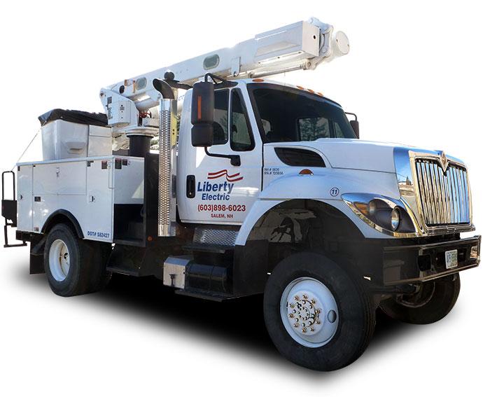 Liberty Electric Bucket Truck