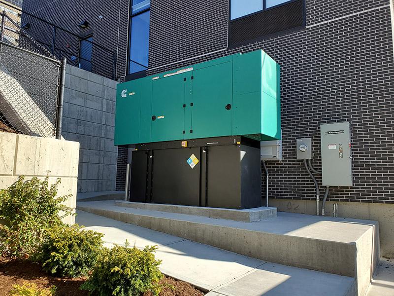 emergency standby generator