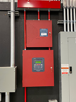 commercial fire alarm installation