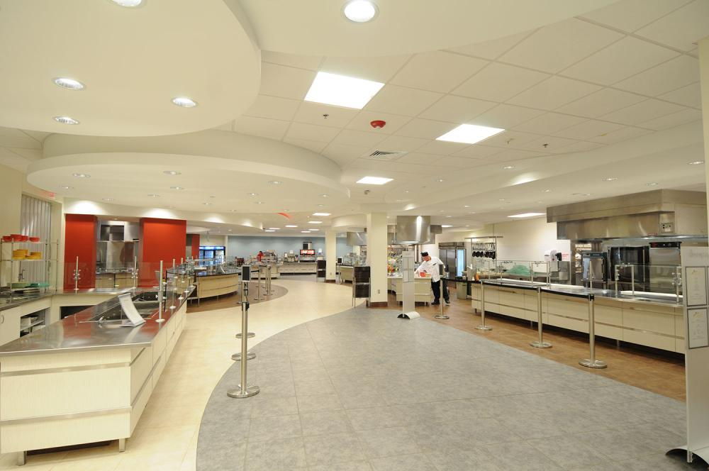 Southern New Hampshire University Dining Hall